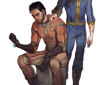 Fallout 4 Blind betrayal by SineAlas