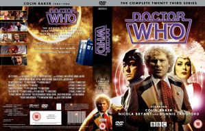 DOCTOR WHO CLASSIC  SERIES 23 by MrPacinoHead