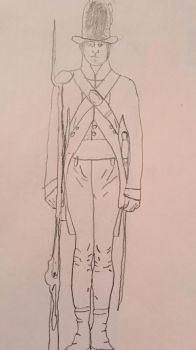 Continental army man  by SimpleSketchy