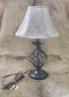 Chain Mail Lamp shade by Minotaur-Queen