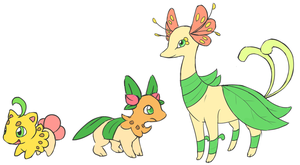 Grass Starters by fuzzball288