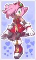 Amy Rose +Fashion Show+ by nancher