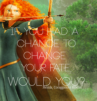 Merida - Brave by damnedlotus