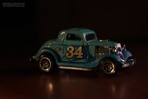 Hot Wheels: 3-Window '34 Ford by MarcMan18