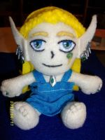 Aura Galand- Plush Doll by Tigerkytti