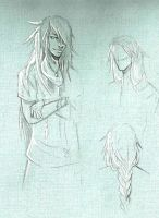 Sketch of the wallpaper (1) by Narniy