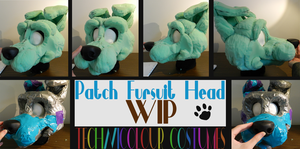 (WIP) Patch Fursuit Head by TECHNlCOLOUR