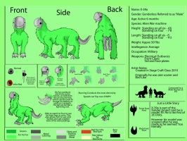 X-39a Reference sheet by DragonCuali