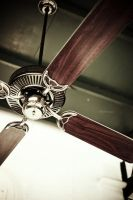 a ceiling fan by garki