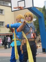 Golden Sun and Son by JustBeFriend