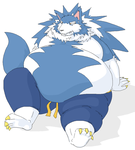 Fat John Talbain-Gallon by AmpleAnthroClub