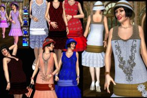 Full Description DY 20s Outfit by DiYanira
