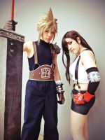 Tifa and Cloud by The-Final-Distance