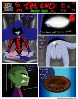 Teen Titans ''The End'': Beast Boy Pg. 1 by FeistyFelioness
