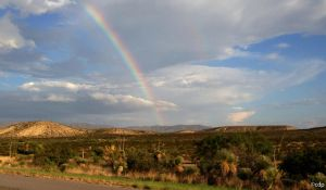 West Texas Rainbow by surlana