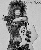 Nikki Sixx by whendt