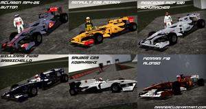 F1 2010 Teams Gmod: Part 1 (WIP) by MarineACU
