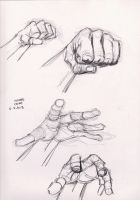 Hand Study 6-9-2013 3 by myconius