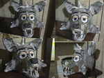 Pirate Cove Foxy - Mask (WIP) by wolfjedisamuel