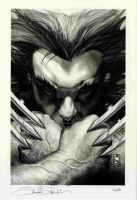 WOLVERINE 55 cover by simonebianchi