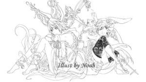 Blade and Soul by RoezNoah917