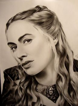 Cersei Lannister by EchoesOfRae