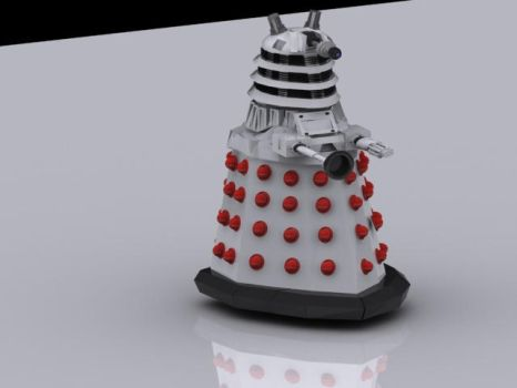 Dalek from Doctor Who by evilronnie42