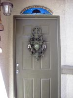 Aum Is Where the Art Is- Door by mythfits