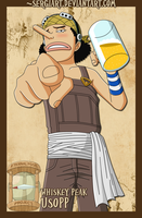 EPP - Whiskey Peak: Usopp by SergiART
