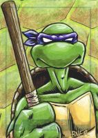 Donatello sketch card by JLWarner