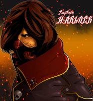Captain Harlock by Spidertof
