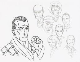 Holmes' Rogues gallery by dan-sch