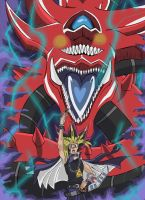 I Summon Slifer by Vize-kun