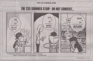 """The 233"" - Summer Strip 6 by NK-C"