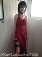 Updated Resident Evil 4 Ada Wong cosplay by MasterCyclonis1
