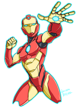 Invincible Ironheart by LucianoVecchio