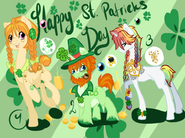 St patrics day adopts CLOSED by Sarahostervig