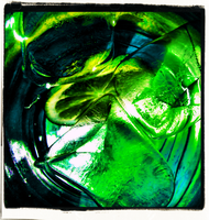 Lime Glass by JoshuaArtwork