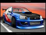 -Subaru Impreza Time Attack- by zeba5