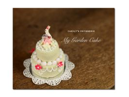 Mygarden Cake by PetitDeCherries