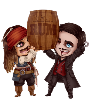 .: All hail the Rum! :. by CaptainPinsel