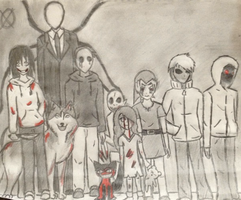 Creepypasta by Payoliux