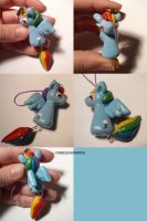 Rainbow Dash Dangly 2 by ChibiSilverWings