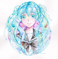 Bottle Miku by Nii-hon