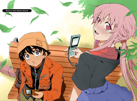 Mirai Nikki - Day Off by Angelinstall