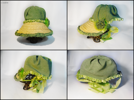 Regency bonnet 3 by L-Justine