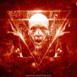 B-inverted-pyramid-extreme-metal-album-cover-artwo by MOONRINGDESIGN