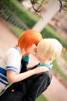Nami and Sanji - Attraction by abolechander