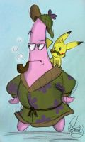 30Ways: Patrick and Pikachu by JediAnnSolo