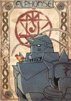 Alphonse Meets Alphonse by MonicaMcClain